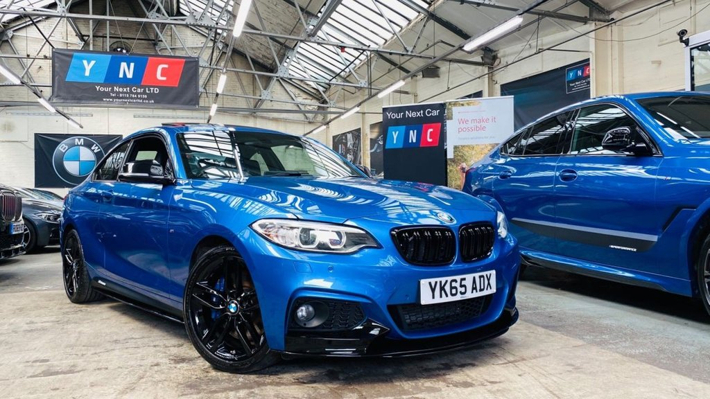 USED 2015 65 BMW 2 SERIES 2.0 220d M Sport (s/s) 2dr PERFORMANCEKIT+MPLUSPACK+SROOF