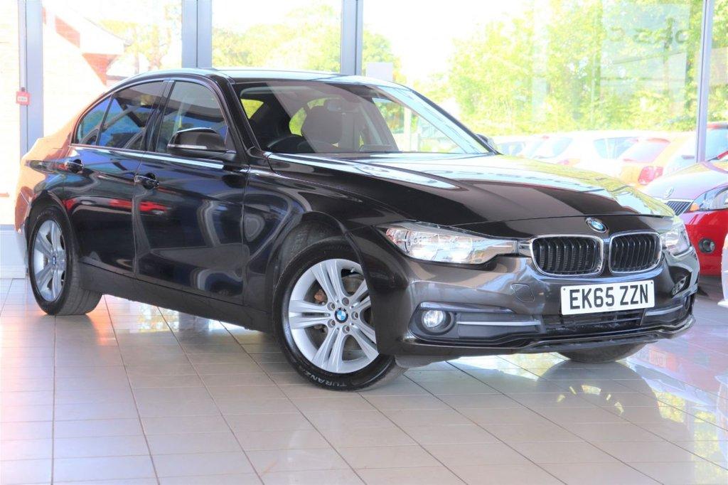 USED 2015 65 BMW 3 SERIES 2.0 318D SPORT 4d 148 BHP Satnav + Cruise + Parking Aid + Dab