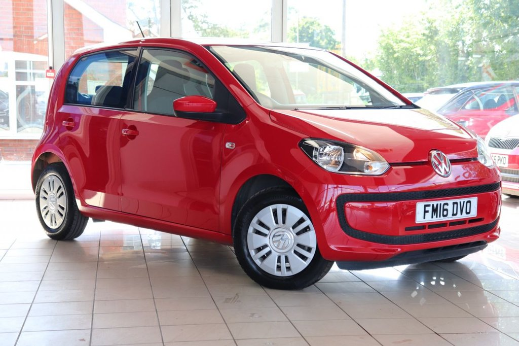 USED 2016 16 VOLKSWAGEN UP 1.0 MOVE UP 5d 59 BHP 1 Owner + Full Service History