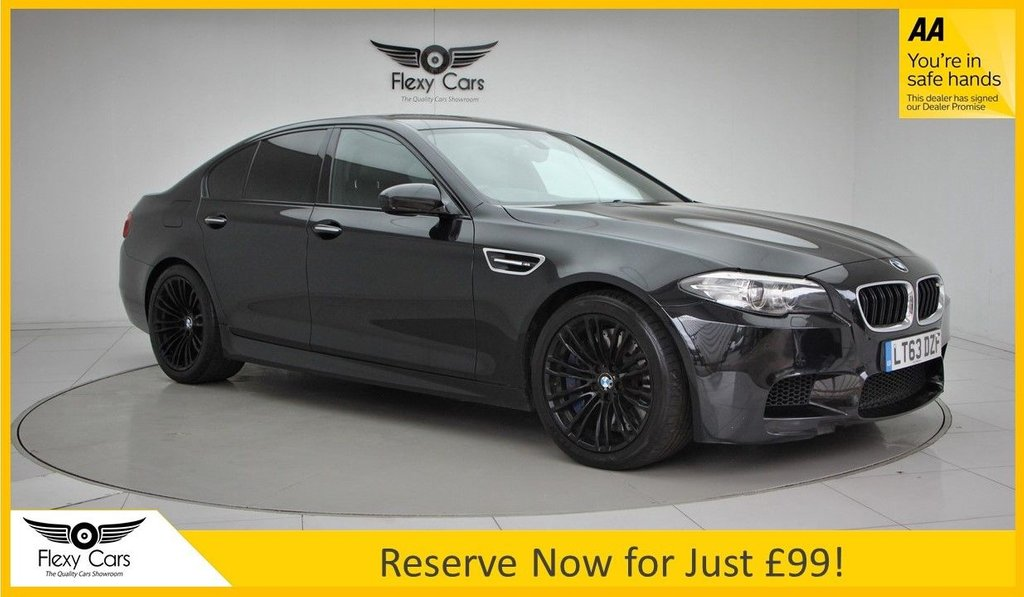 USED 2013 63 BMW M5 4.4 M5 4d 553 BHP
