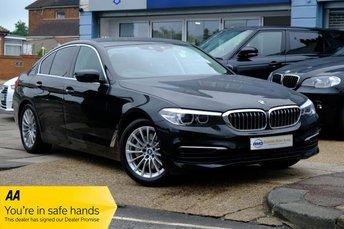2017 BMW 5 SERIES 2.0 530E SE 4d 249 BHP £21900.00