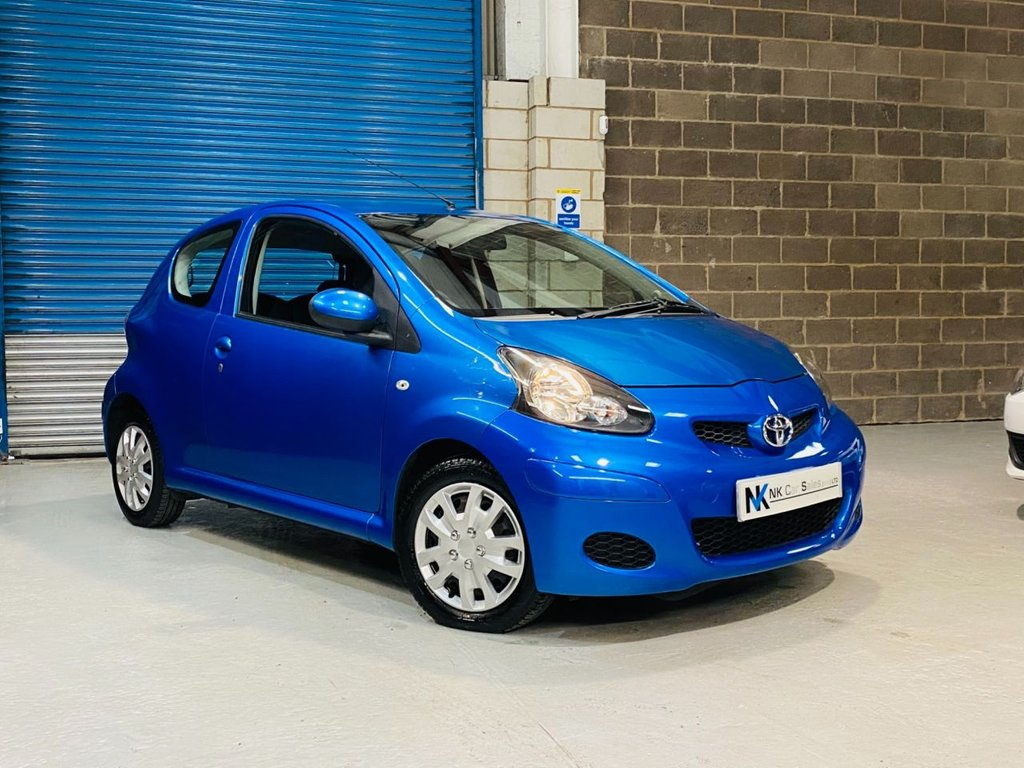 USED 2010 10 TOYOTA AYGO 1.0 BLUE VVT-I 3d 67 BHP Air Conditioning / AUX Media Input / 2 Keys