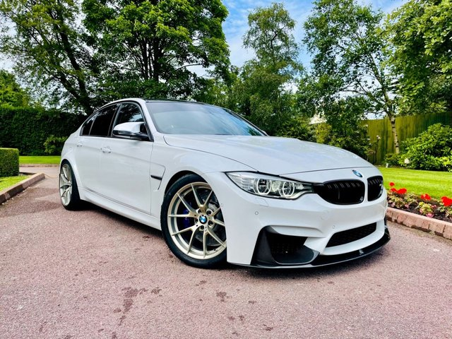 2016 66 BMW M3 3.0 M3 COMPETITION PACKAGE 4d 444 BHP