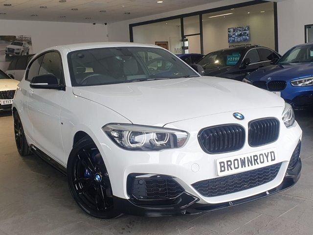 USED 2019 19 BMW 1 SERIES 3.0 M140I SHADOW EDITION 3d 335 BHP PRO NAV+HARMON KARDON+HTD LTHR