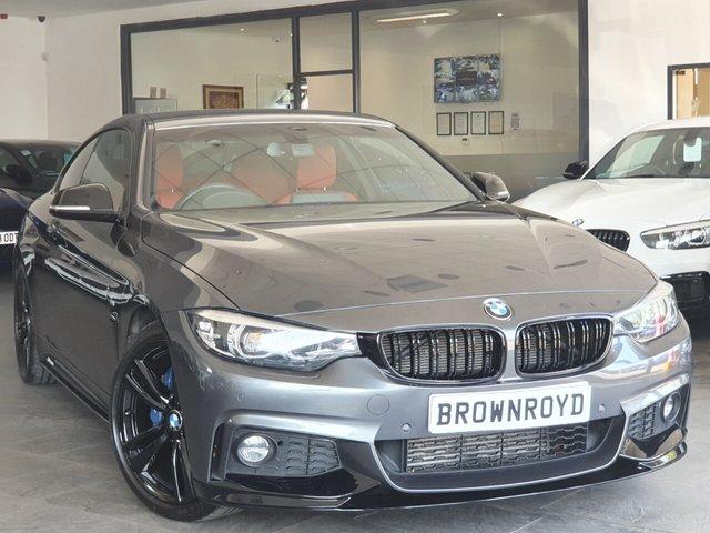 USED 2017 67 BMW 4 SERIES 2.0 420D M SPORT 2d 188 BHP BM PERFORMANCE STYLING+6.9%APR