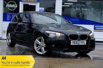 2013 BMW 1 SERIES 2.0 116D M SPORT 5d 114 BHP £9750.00