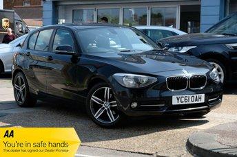 2011 BMW 1 SERIES 1.6 116I SPORT 5d 135 BHP £7250.00