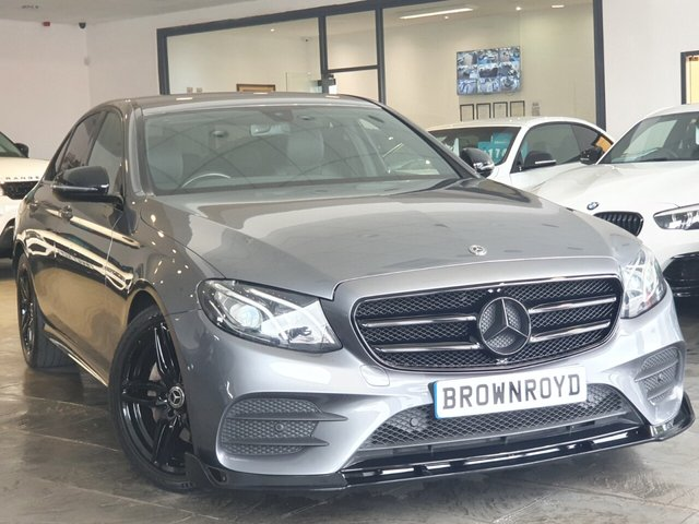 USED 2017 17 MERCEDES-BENZ E-CLASS 2.0 E 220 D AMG LINE 4d 192 BHP BRM BODY STYLING+7.9% APR