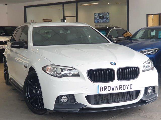 USED 2016 66 BMW 5 SERIES 2.0 520D M SPORT TOURING 5d 188 BHP BM PERFORMANCE STYLING+7.9%APR