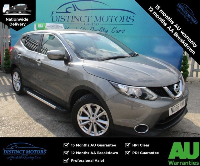USED 2016 66 NISSAN QASHQAI 1.5 DCI ACENTA SMART VISION 5d 108 BHP 1 FORMER OWNER WITH ONLY 35K