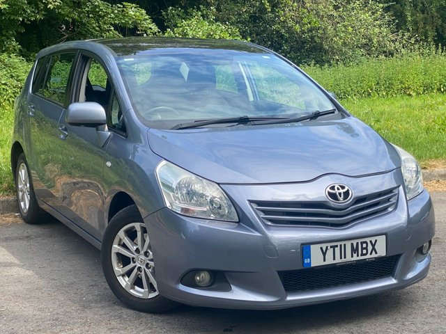 USED 2011 11 TOYOTA VERSO 2.0 TR D-4D  5d 125 BHP LOW MILEAGE 7 SEAT FAMILY CAR