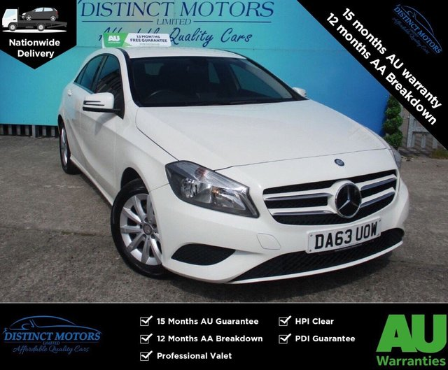 USED 2013 63 MERCEDES-BENZ A-CLASS 1.6 A180 BLUEEFFICIENCY SE 5d 122 BHP 1 FORMER OWNER WITH ONLY 35K