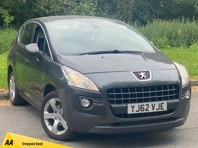 USED 2012 62 PEUGEOT 3008 1.6 ACTIVE HDI FAP 5d 112 BHP VALUE FOR MONEY FAMILY SUV