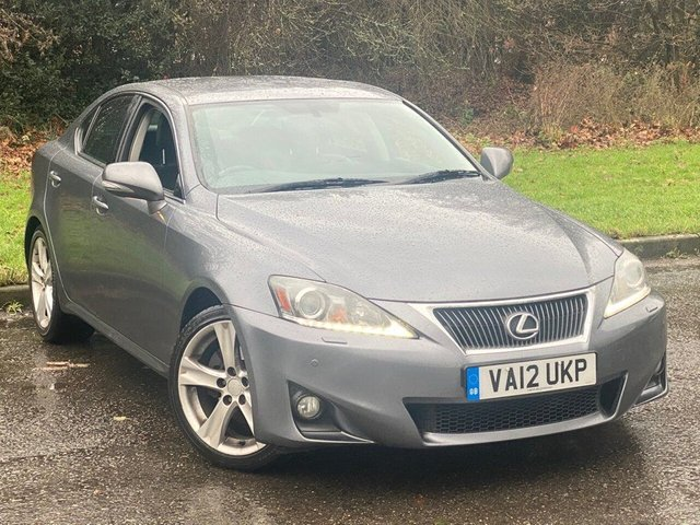 USED 2012 12 LEXUS IS 2.5 250 ADVANCE 4d 205 BHP * 12 MONTHS FREE AA MEMBERSHIP * FULL BLACK LEATHER * AUTOMATIC *