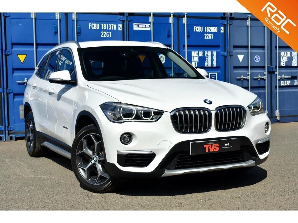 USED 2016 16 BMW X1 2.0 XDRIVE18D XLINE 5d 148 BHP BMW MAIN DEALER SERVICE HISTORY!