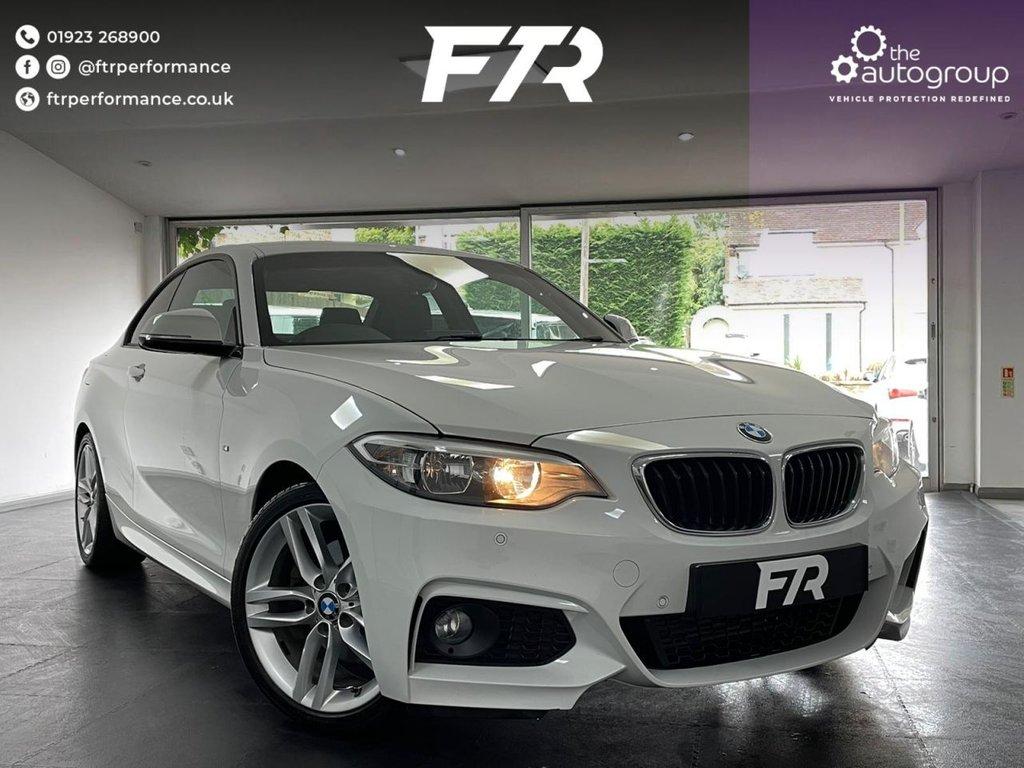 USED 2015 15 BMW 2 SERIES 2.0 225D M SPORT 2d 215 BHP