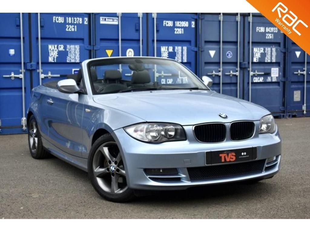 USED 2009 59 BMW 1 SERIES 2.0 118D SPORT 2d 141 BHP REFURBISHED WHEELS! GREAT HISTORY!