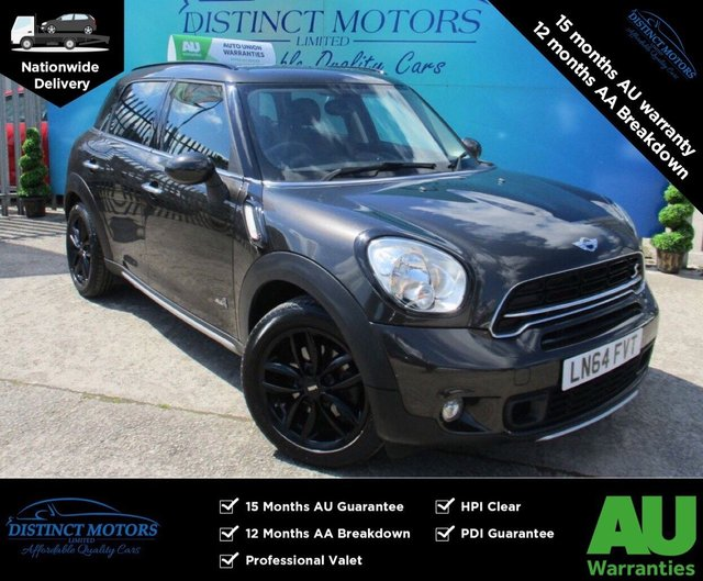 USED 2014 64 MINI COUNTRYMAN 2.0 COOPER SD ALL4 5d 141 BHP A RARE AUTO 4WD+ONLY 37K MILES