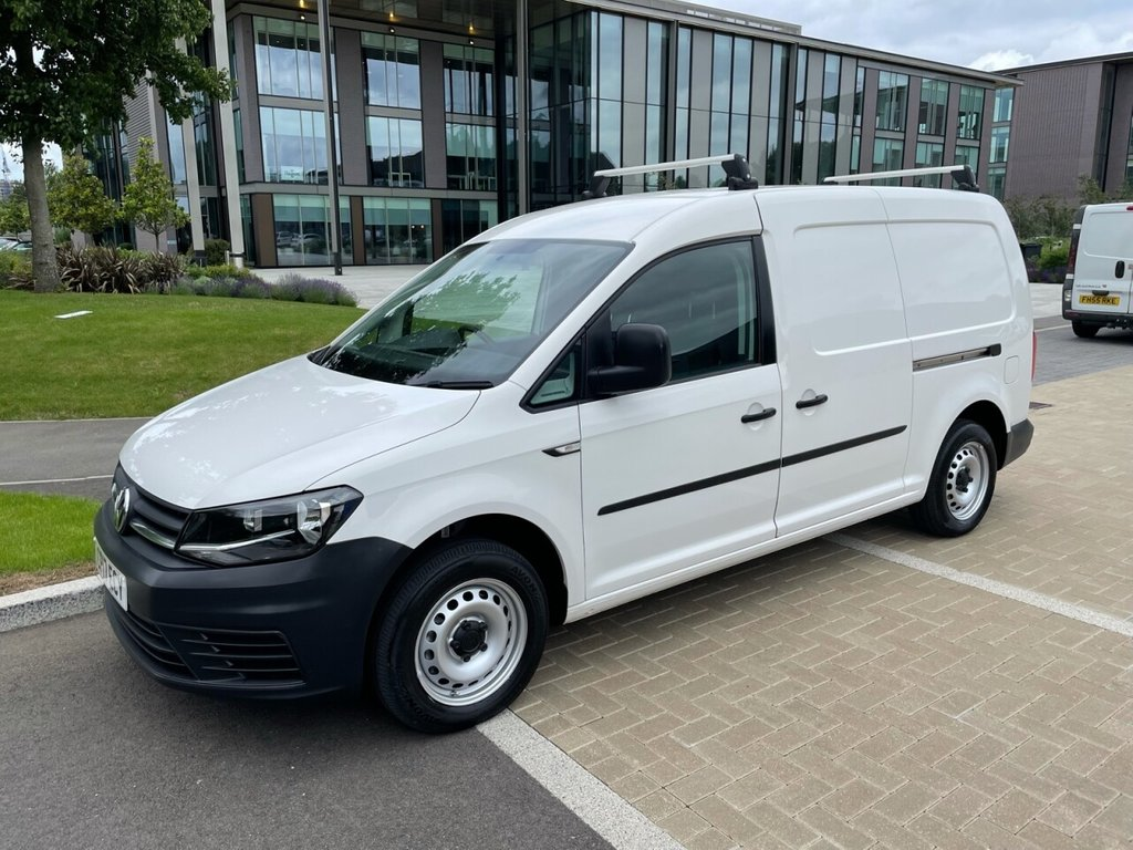 USED 2017 17 VOLKSWAGEN CADDY MAXI C20 STARTLINE MAXI 2.0TDCI EURO 6 102ps *E/PACK*TWIN SLD*ROOF BARS* MAXI-EURO 6-E/PACK-STOP START