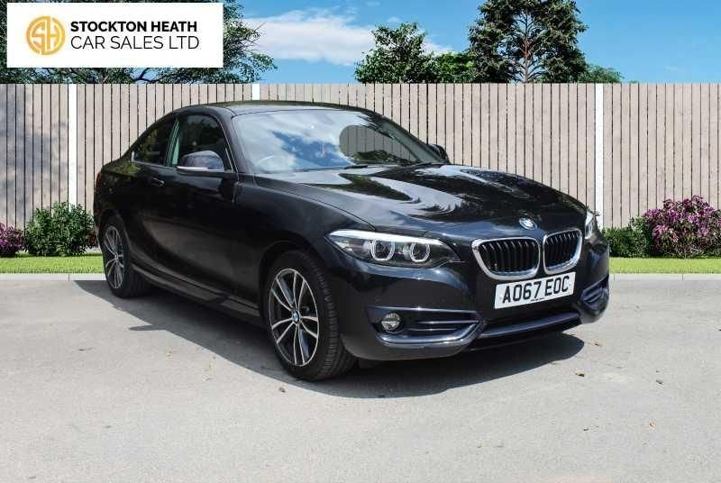 USED 2017 67 BMW 2 SERIES 2.0 218D SPORT 2d 148 BHP AVAILABLE TO TEST DRIVE