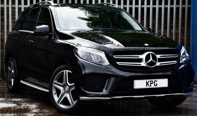 USED 2016 65 MERCEDES-BENZ GLE-CLASS 3.0 GLE350d V6 AMG Line (Premium) G-Tronic 4MATIC (s/s) 5dr £59k New, Pan Roof, Air Sus +