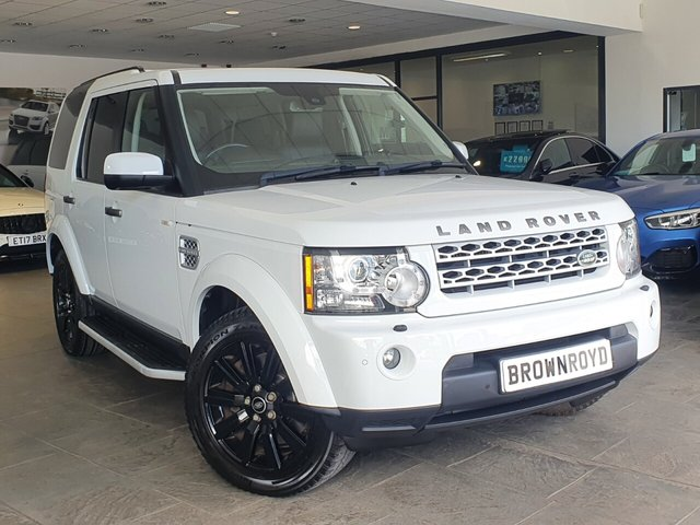 USED 2013 13 LAND ROVER DISCOVERY 3.0 4 SDV6 XS 5d 255 BHP SAT NAV+LEATHER+H-K+FSH
