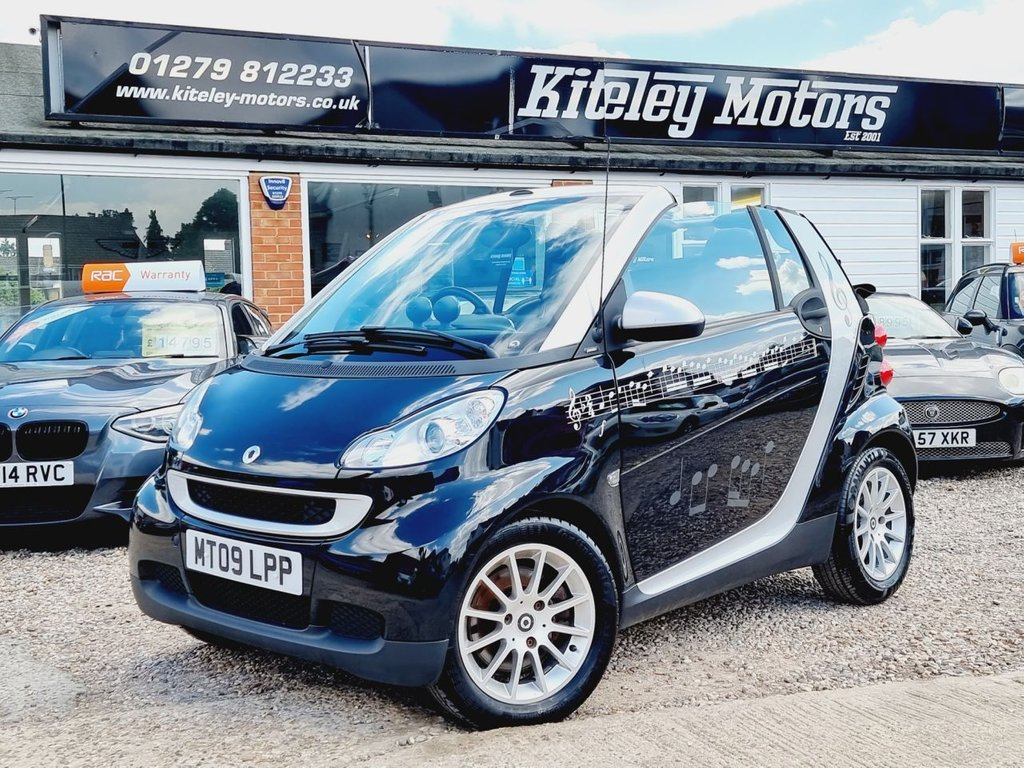 USED 2009 09 SMART FORTWO CABRIO 1.0 PASSION MHD 2d 71 BHP