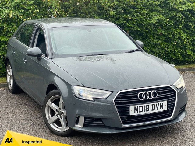 USED 2018 18 AUDI A3 1.5 TFSI SPORT 5d 148 BHP * LOW MILEAGE * 12 MONTHS FREE AA BREAKDOWN COVER *