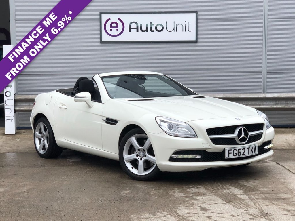 USED 2012 62 MERCEDES-BENZ SLK 2.1 SLK250 CDI BLUEEFFICIENCY 2d 204 BHP LOW MILES + BLUETOOTH AUDIO & CALLS + CLIMATE CONTROL + CRUISE CONTROL