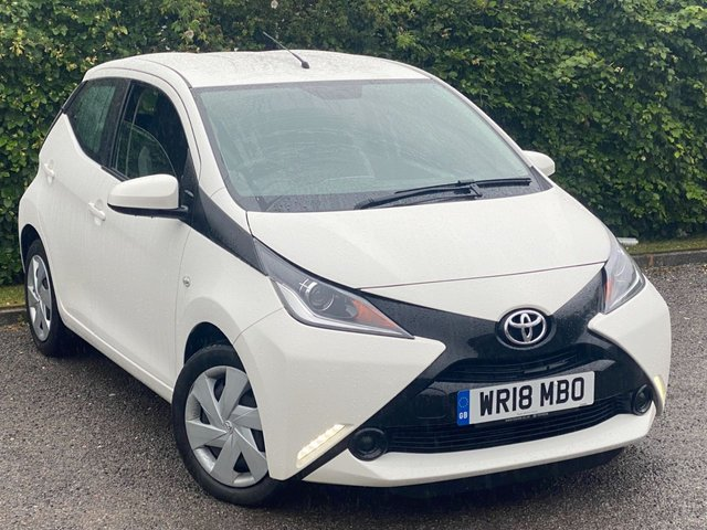 USED 2018 18 TOYOTA AYGO 1.0 VVT-I X-PLAY 5d 69 BHP * 2 OWNERS * LOW MILEAGE * 12 MONTHS FREE AA MEMBERSHIP *
