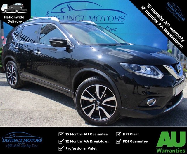 USED 2016 16 NISSAN X-TRAIL 1.6 DCI TEKNA XTRONIC 5d 130 BHP A RARE AUTO+7SEATS+HEATED LEATHER