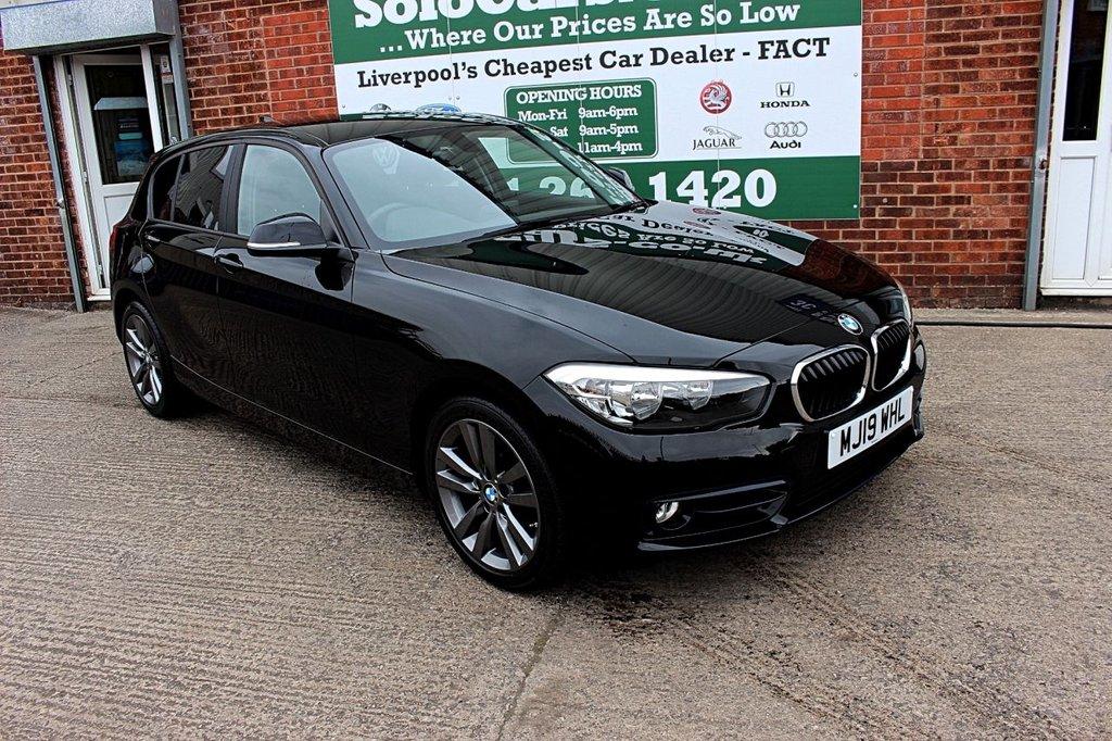USED 2019 19 BMW 1 SERIES 1.5 118I SPORT 5d 134 BHP +ONE OWNER +SAT NAV +SPORT.