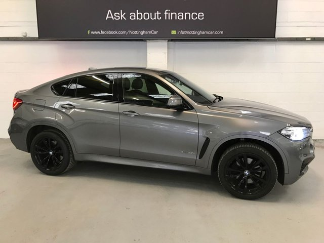 USED 2017 17 BMW X6 3.0 XDRIVE40D M SPORT 4d 309 BHP ***Finance Available***