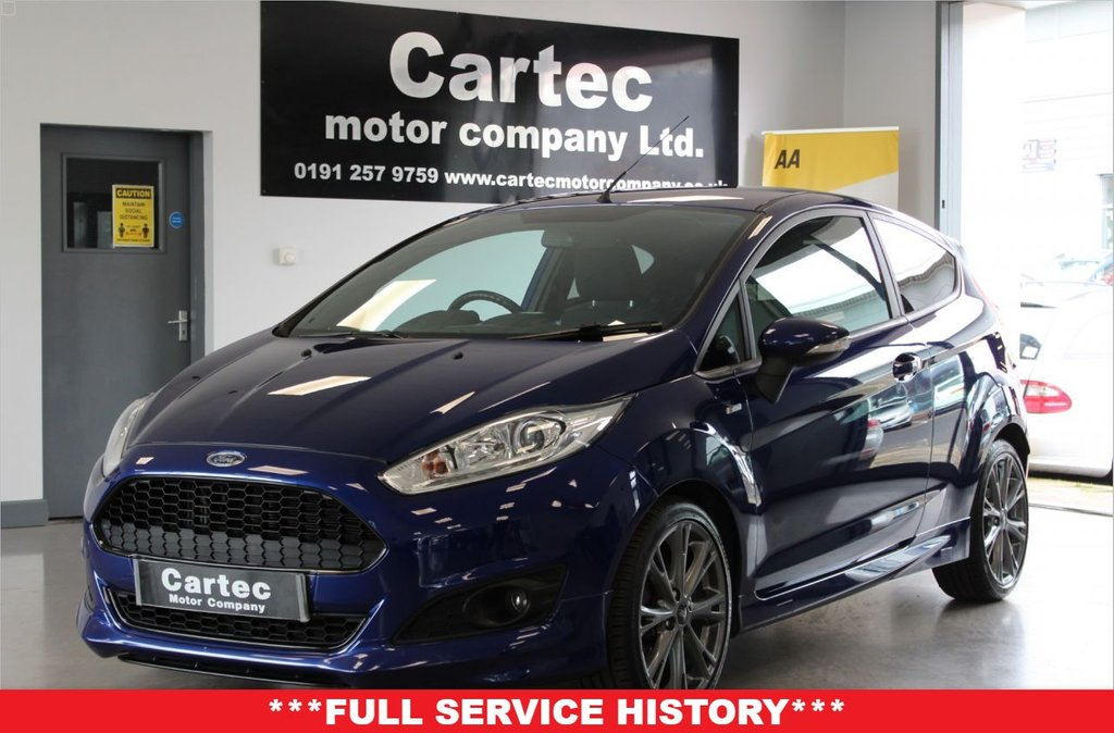 USED 2016 66 FORD FIESTA 1.0 ST-LINE 3d 124 BHP ***FULL SERVICE HISTORY***