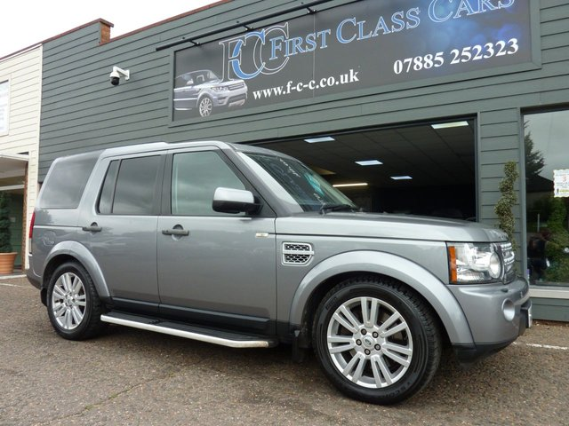 2011 61 LAND ROVER DISCOVERY 3.0 4 SDV6 HSE 5d 245 BHP