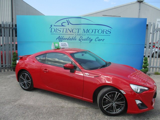 USED 2013 13 TOYOTA GT86 2.0 D-4S 2d 197 BHP ONLY 2 FORMER OWNERS+ONLY 58K MILES