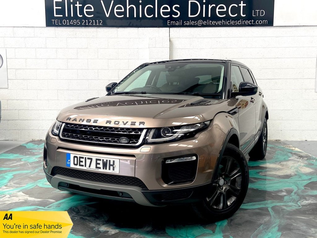 USED 2017 17 LAND ROVER RANGE ROVER EVOQUE 2.0 TD4 SE TECH 5d 177 BHP *LOW RATE FINANCE FROM 6.9% APR