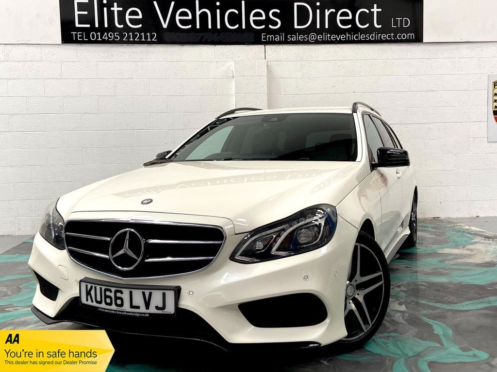 USED 2016 66 MERCEDES-BENZ E-CLASS 2.0 E 220 D AMG LINE 4d 192 BHP *LOW RATE FINANCE FROM 6.9% APR