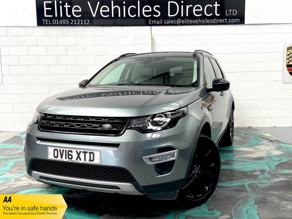 USED 2016 16 LAND ROVER DISCOVERY SPORT 2.0 TD4 HSE LUXURY 5d 180 BHP *LOW RATE FINANCE FROM 6.9% APR