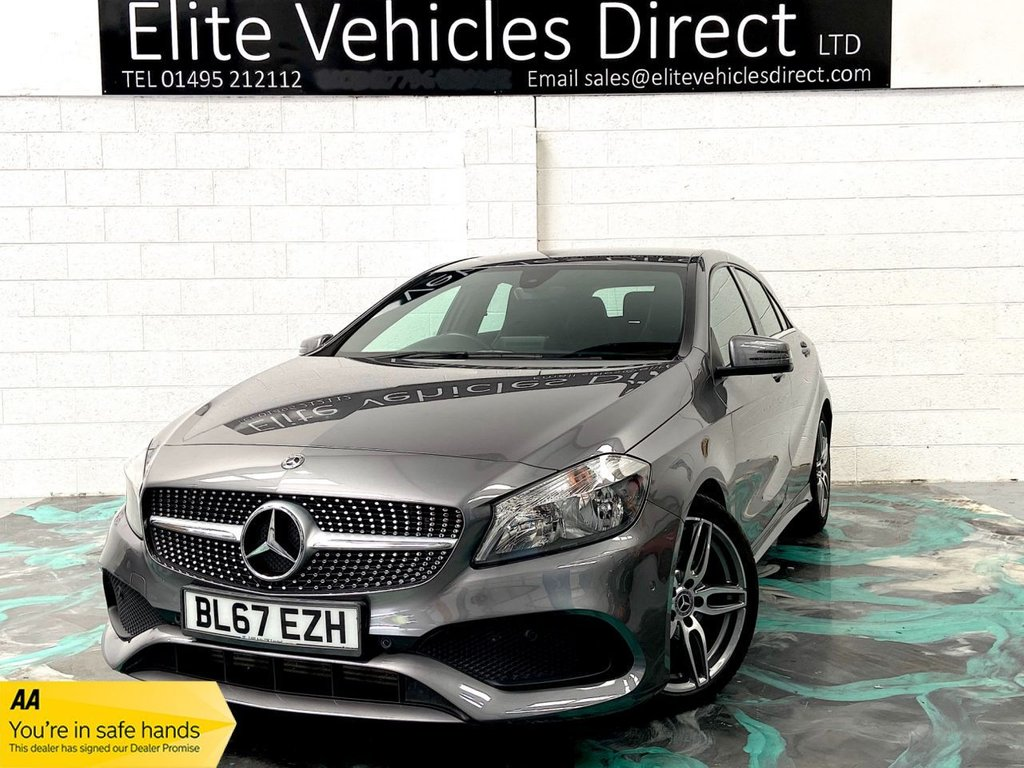 USED 2017 67 MERCEDES-BENZ A-CLASS 1.5 A 180 D AMG LINE EXECUTIVE 5d 107 BHP *LOW RATE FINANCE FROM 6.9% APR