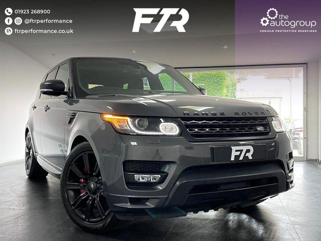 USED 2016 66 LAND ROVER RANGE ROVER SPORT 4.4 SDV8 AUTOBIOGRAPHY DYNAMIC 5d 339 BHP