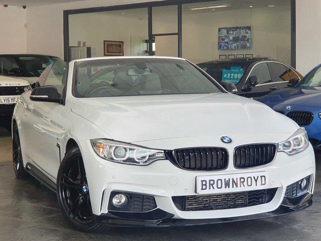 USED 2014 64 BMW 4 SERIES 2.0 420D M SPORT 2d 181 BHP BM PERFORMANCE STYLING+7.9%APR