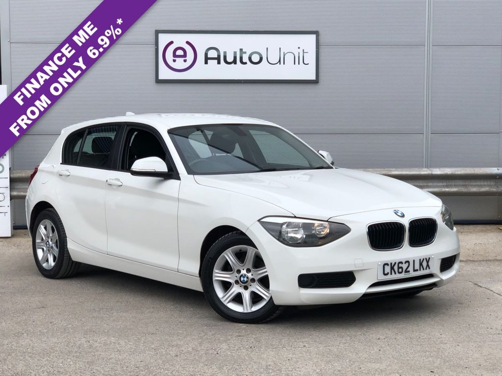 USED 2012 62 BMW 1 SERIES 2.0 116D ES 5d 114 BHP COMPREHENSIVE HISTORY + LOW MILES + AUX CONNECTIVITY + AIR CONDITIONING + AUTO STOP/START