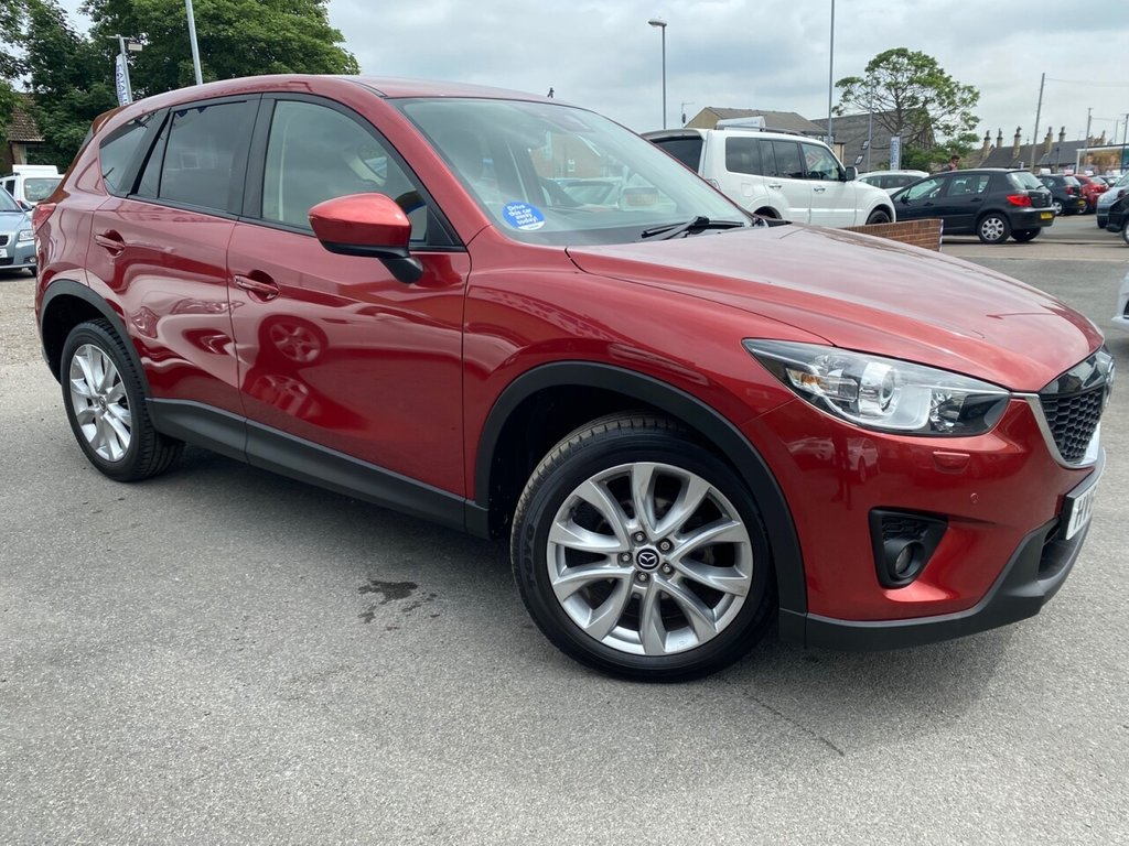 USED 2014 64 MAZDA CX-5 2.0 SPORT NAV 5d 163 BHP LOW MILES-JUST 2 OWNERS