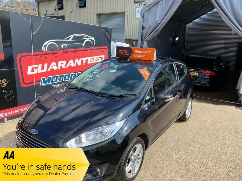 USED 2013 13 FORD FIESTA 1.0 ZETEC 3d 99 BHP Finance from £103 per month, FSH, Free to tax, cheap to insure and run.