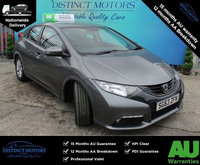 USED 2013 63 HONDA CIVIC 2.2 I-DTEC ES 5d 148 BHP ONLY 1 FORMER OWNER WITH ONLY 49K