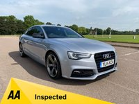 USED 2015 15 AUDI A5 2.0 TDI BLACK EDITION PLUS 5d 187 BHP £COMPETITIVE FINANCE PACKAGES