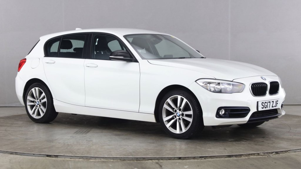 USED 2017 17 BMW 1 SERIES 2.0 118D SPORT 5d 147 BHP +ONE OWNER +LOW MILES +SAT NAV