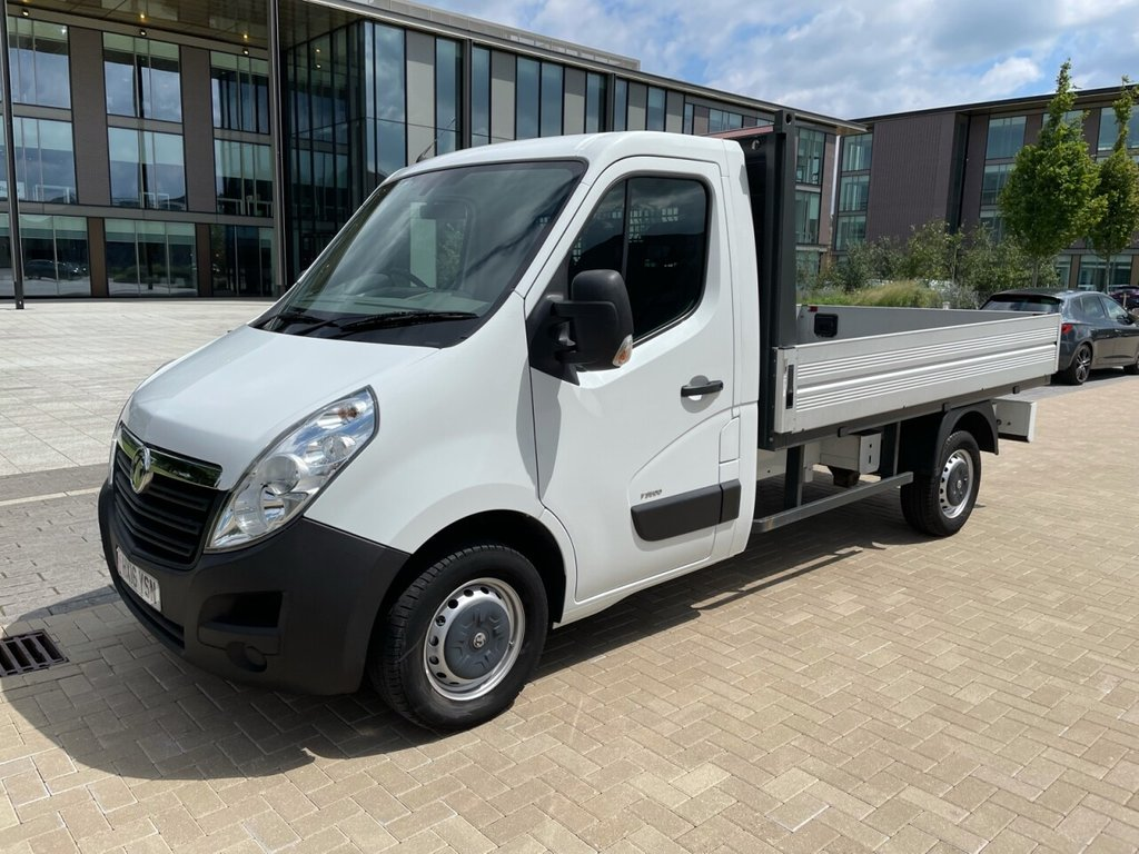 USED 2016 16 VAUXHALL MOVANO F3500 2.3CDTI 125ps L2H1 FWD ALLOY BODY DROPSIDE *ONLY 5,800K MILES* ALLOY BODY DROPSIDE-BLUETOOTH