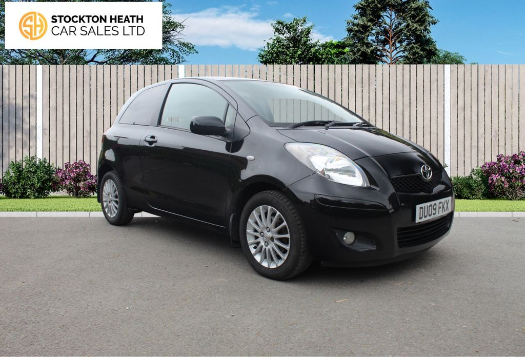 USED 2009 09 TOYOTA YARIS 1.3 SR VVT-I 3d 99 BHP AVAILABLE TO TEST DRIVE